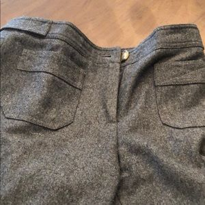 Kors grey wool pants